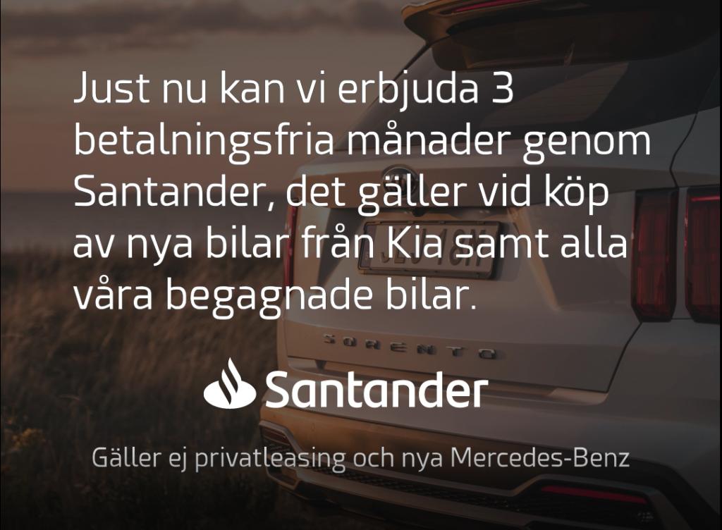 Santander erbjudande Småländska Bil