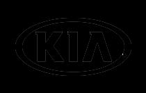 Småländska Bil Kia logo svart