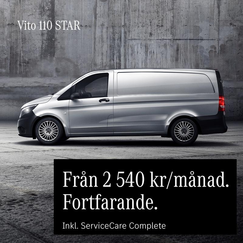 Småländska Bil Mercedes-Benz Vito transportbilar kampanj