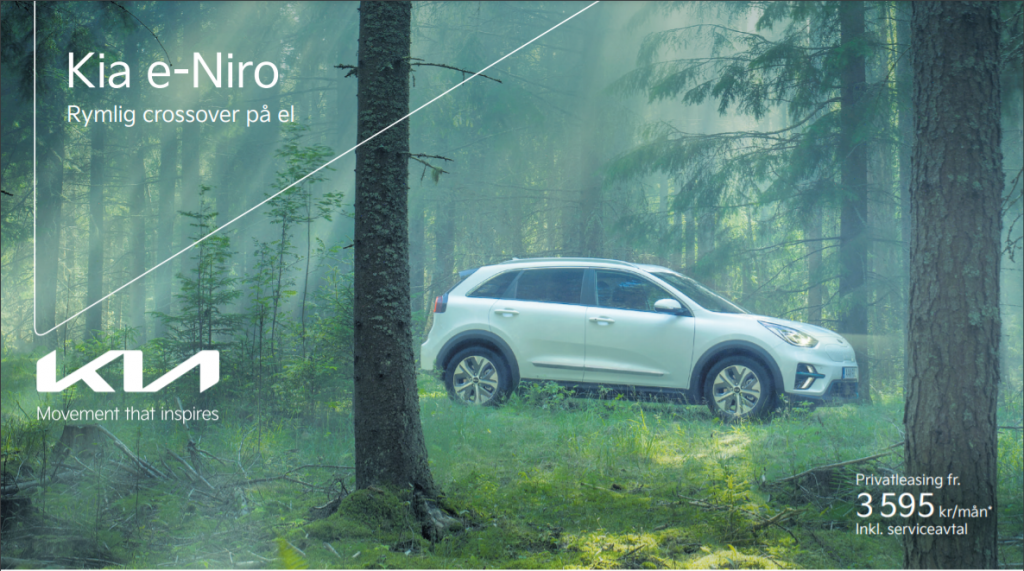 Smalandska Bil Kia E-Niro privatleasing bild 1