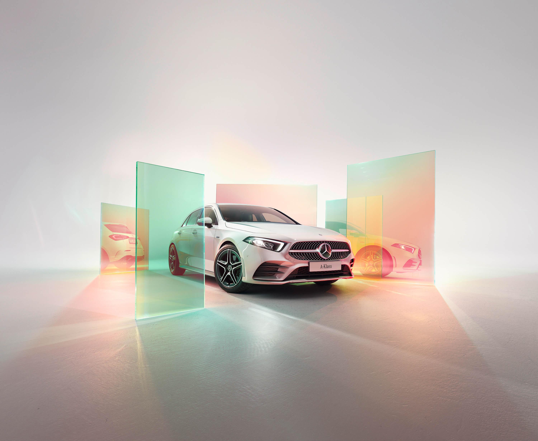 Smalandska Bil Mercedes-Benz A-klass kampanj automatlåda