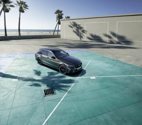 Smalandska Bil Mercedes-Benz AMG night kampanj senaste