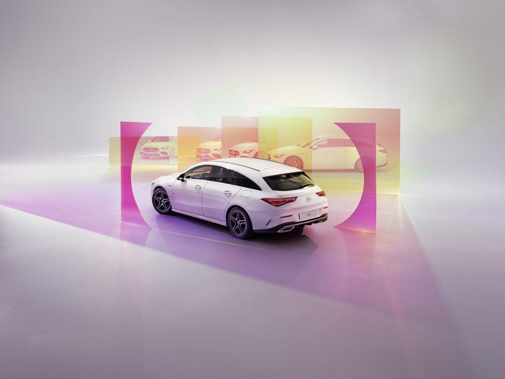 Smalandska Bil Mercedes-Benz CLA kampanj automatlåda