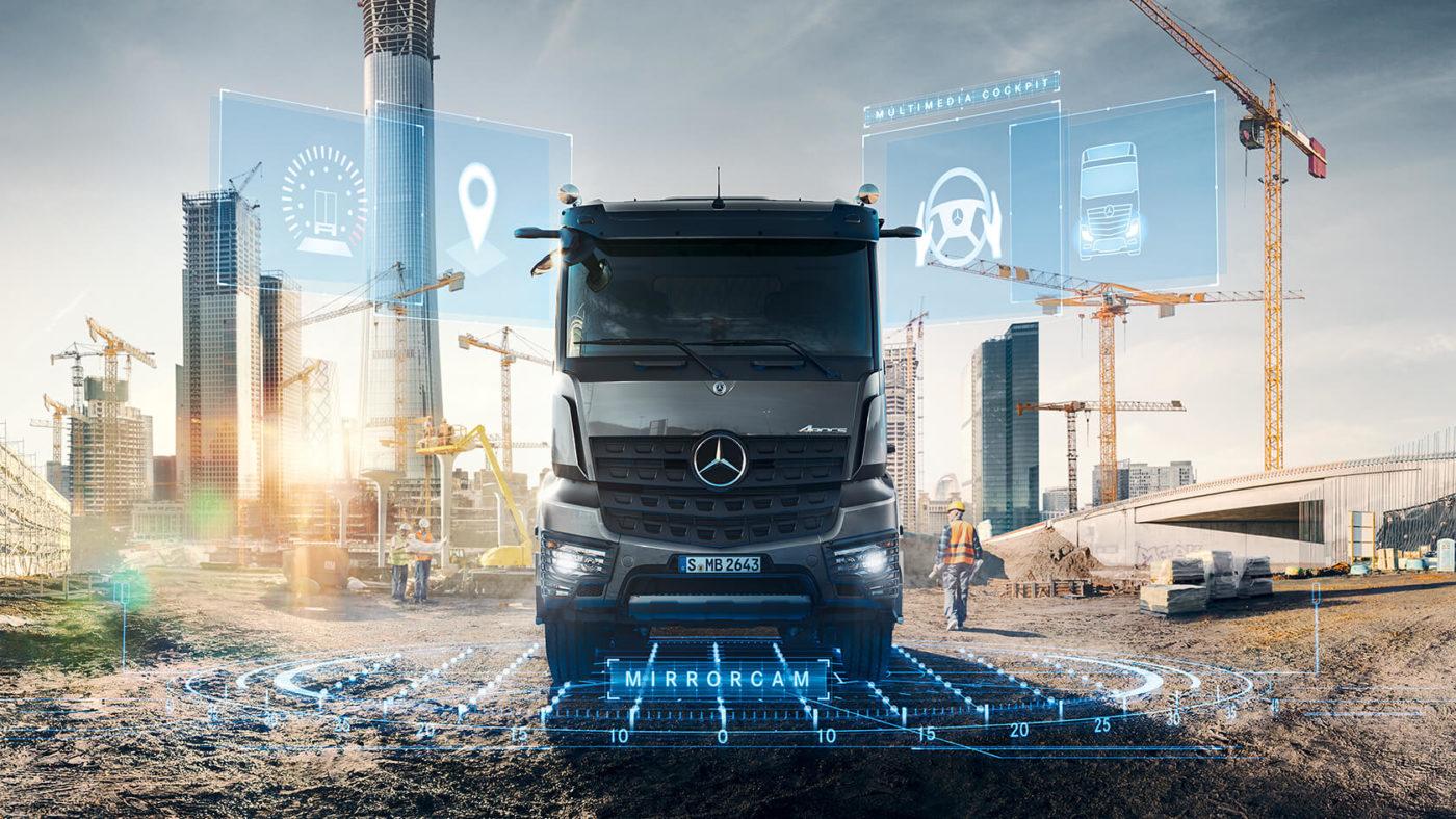 Smalandska Bil Mercedes-Benz Lastbilar