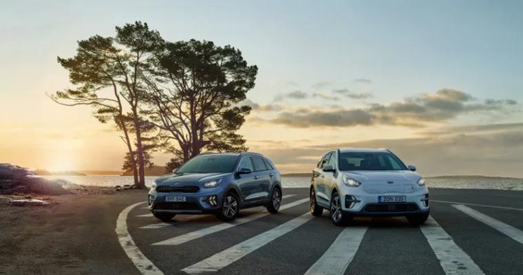 Kia lägst CO2 av bästsäljande bilmärken i Sverige