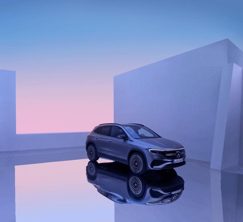Smalandska Bil Mercedes-Benz EQA Lansering bild 3