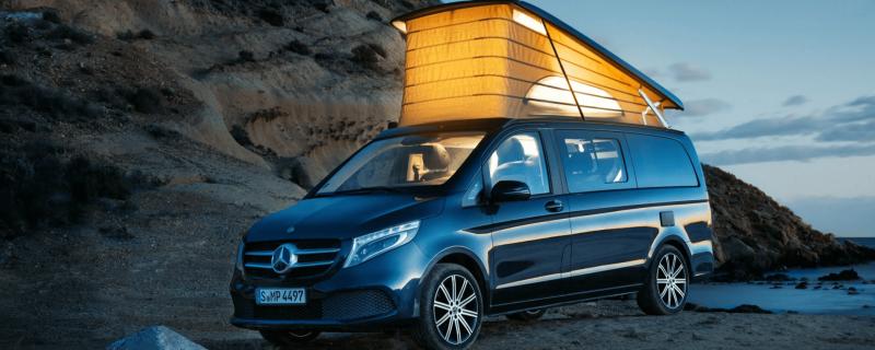 Småländska Bil Mercedes-Benz Marco Polo kampanj